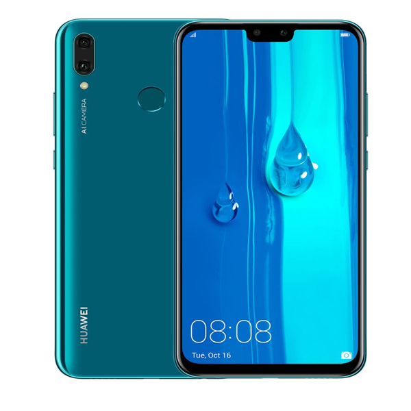 HUAWEI MOBILE PHONE / Y9 2019 ,128GB,6.5'',DUAL SIM, SAPPHIRE BLUE Y9W-128GBBL