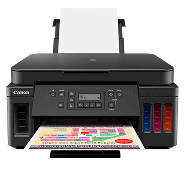 Canon PIXMA G6040 3-in-1 Refillable Ink Tank Printer (G6040)