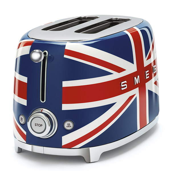 Smeg 2 Slice Toaster Union Jack (TSF01UJUK)