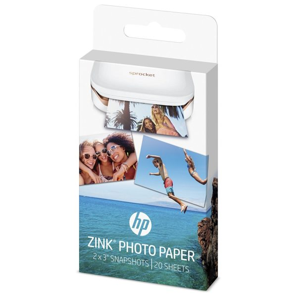 HP 2LY74A Zink Photo Paper 20 Sheets (2LY74A)