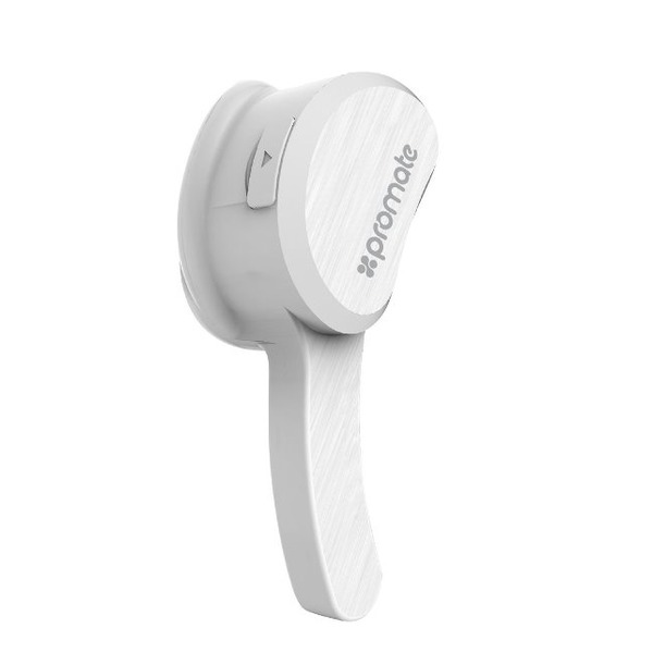 Promate Bluetooth Mono Headset - White (AURAL-WH)