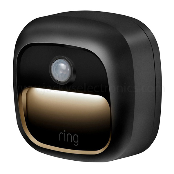 RING SECURITY FLOODLIGHT MOTION ACTIVATED CAMERA-BLACK (5LD1S8-BEN0)