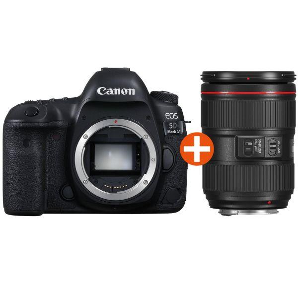 Canon EOS 5D MK IV + 24-105 F4L  (EOS5DMARKIV-KIT)