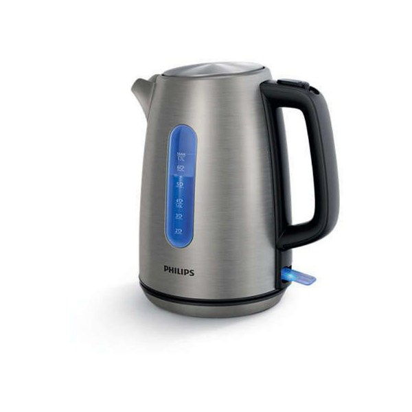 Philips Electric Kettle , 1.7 L , Silver HD9357