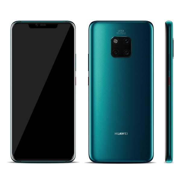Huawei Mate 20 Pro 128GB Smartphone, Green (MATE20PRO-128GBGR)