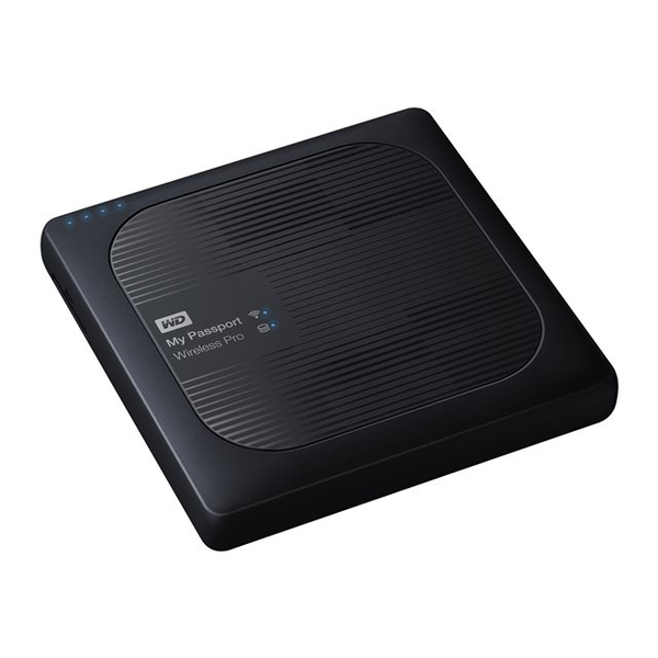Western Digital My Passport Wireless Pro 1TB - Black (WDBVPL0010BBK-EESN)