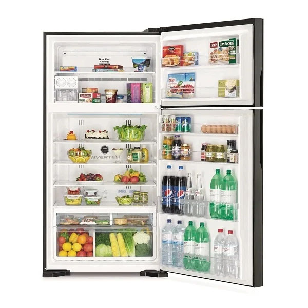 Hitachi Top Mount Refrigerators 990 Litres (RV990PUK1KBSL)