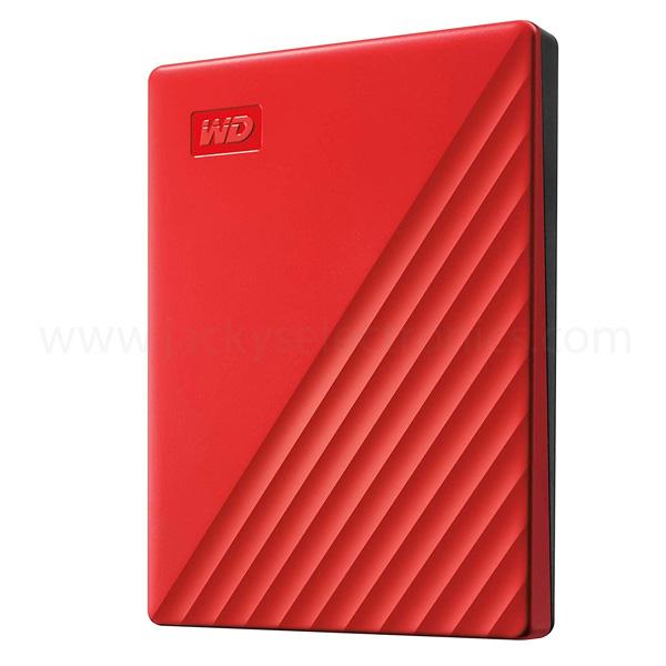 WD MY PASSPORT 2TB RED WORLDWIDE (WDBYVG0020BRD-WESN)