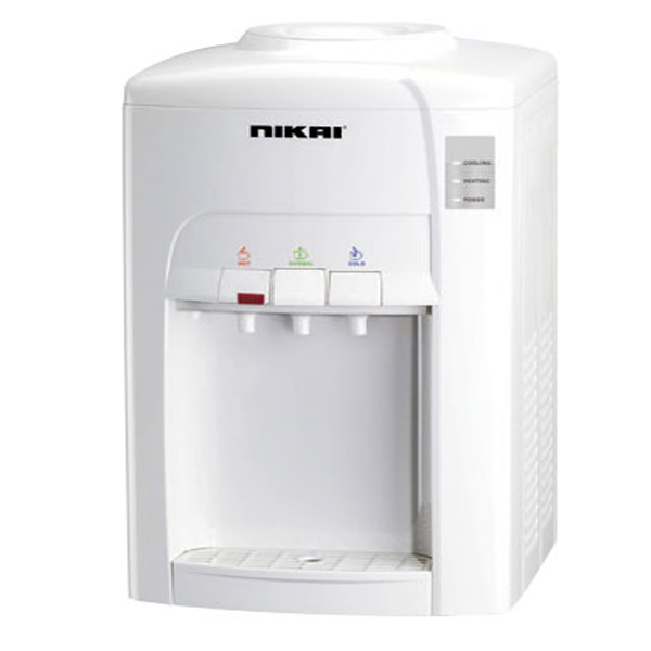 Nikai Series 3 Table Top Water Dispenser  White (NWD1245T)