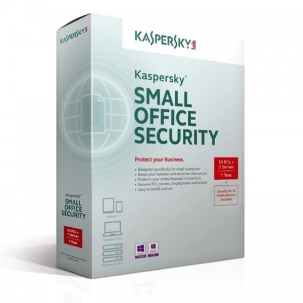 Kaspersky Small Office Security (KSOS10+1RT)