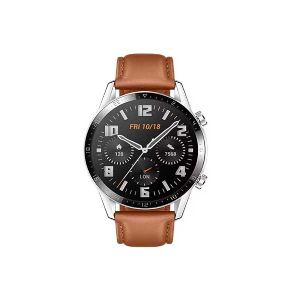 Huawei GT2 Smartwatch 46mm (Classic Edition) Pebble Brown (GT2-BROWN-EC)