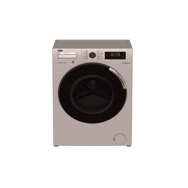 Beko 9kg Washıng Machıne 1400 RPM 16 Programs, Sılver (WTV9734XS)