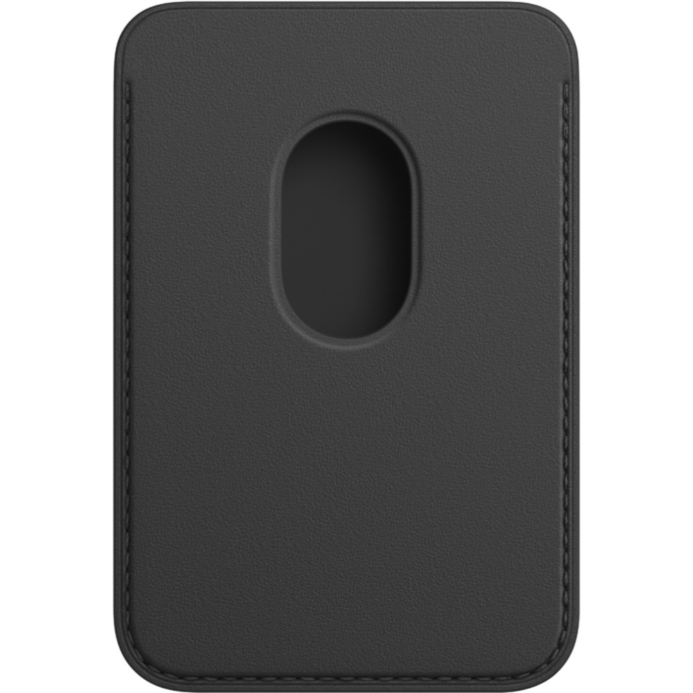 iPhone Leather Wallet with MagSafe Black MHLR3ZE/A