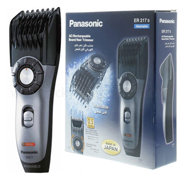 Panasonic ER217 Wet & Dry Hair & Beard Trimmer (ER217)
