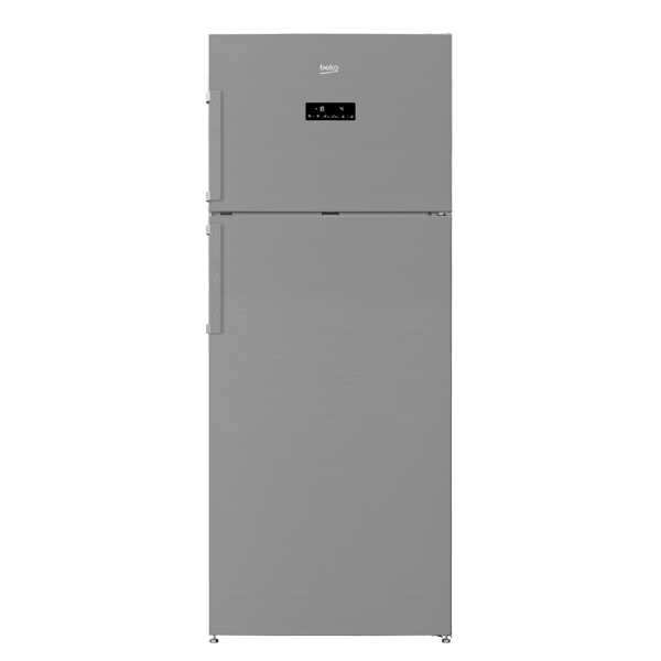 Beko 505 Liter Top Mount Refrigerator, No Frost, Dual Cooling Technology, Made in Turkey (RDNE550K21ZPX)