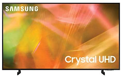 """Samsung 65"""" AU8000 Crystal UHD 4K Smart TV - UA65AU8000UXZN"""
