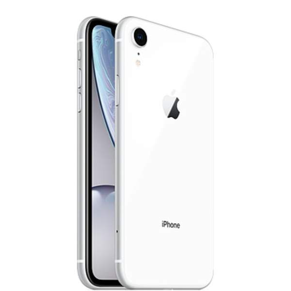 Apple iPhone XR 64GB Smartphone, White (IPXR64GB-WH)