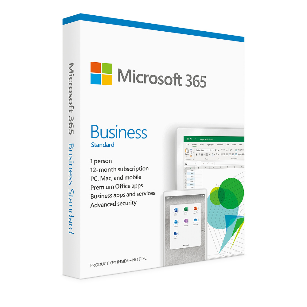 Microsoft Office 365 Business Standard 12 Months License 1 User (KLQ-00483)