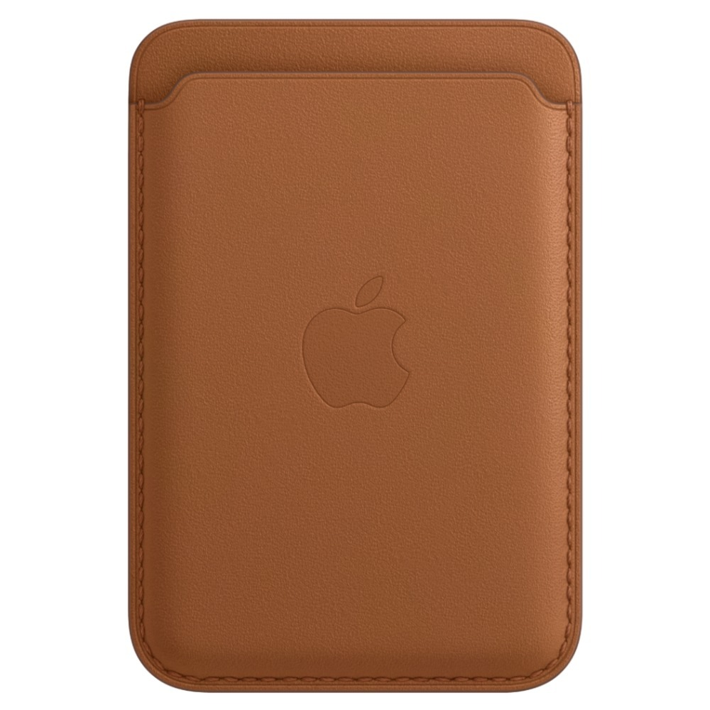 iPhone Leather Wallet with MagSafe Saddle Brown MHLT3ZE/A