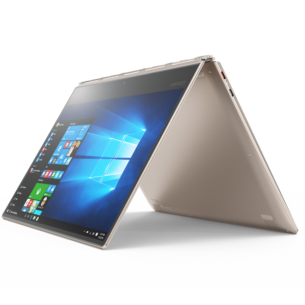Lenovo Yoga 910 Intel Core i7-7500U, 16GB Ram, 1TB SSD, Shared Graphic Card, 13.9'' UHD LED Multi-Touch Screen, Windows 10(YOGA910-A6AX)