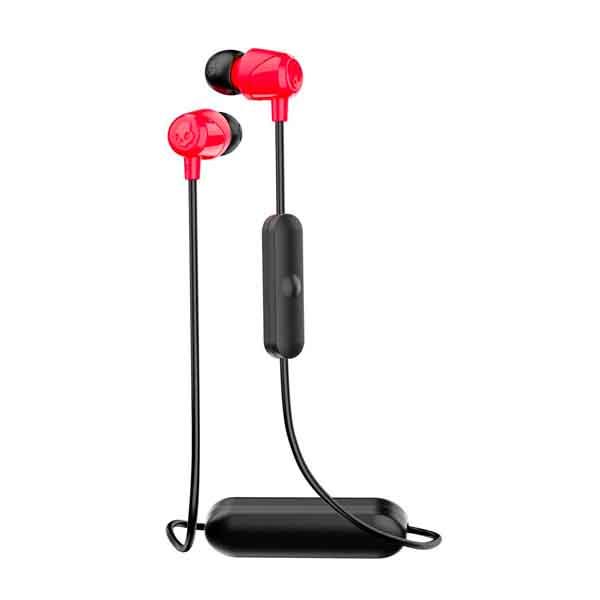 Skullcandy JIB Wireless In-Ear Earbuds Black Red With Mic (S2DUW-K010)