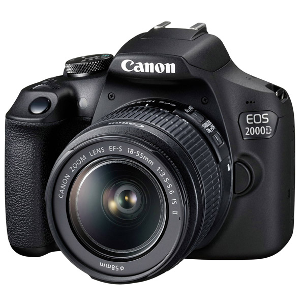 Canon EOS 2000D EFS 18-55MM DC III Black Kit (EOS2000D-DC)