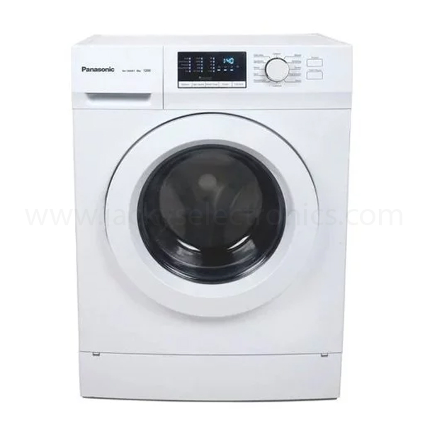 Panasonic 8kg Front Load Washer (NA128XB1W)