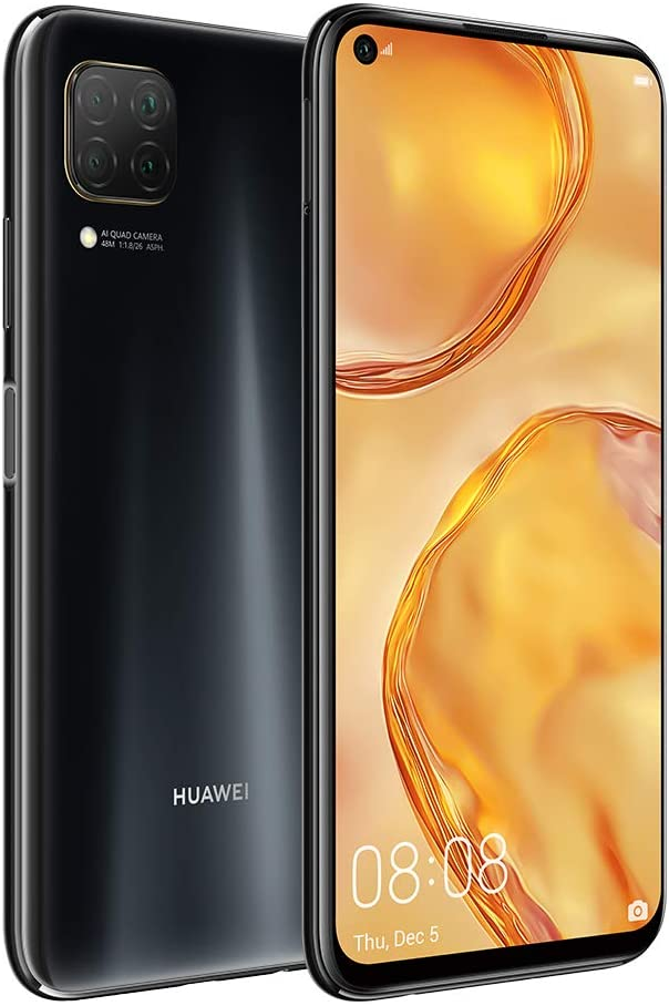 "HUAWEI Nova 7i, Dual SIM, 128 GB, 8 GB RAM, 48MP, 4200 mAh, 6.4"" Display - Midnight Black"