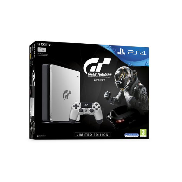 Sony PS4 1TB Gaming Console - GRAN TURISMO  (PS4/1TB-GTE)