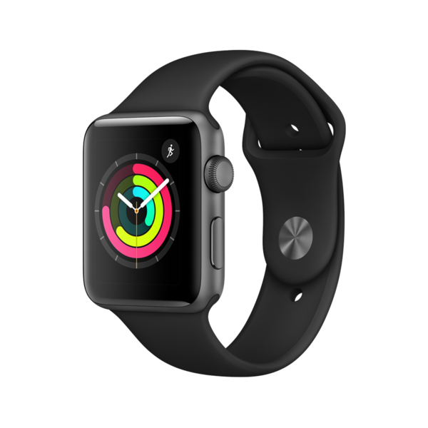 Apple Watch Series 3 GPS + Cellular 38mm Space Grey with Grey Sport Band (MR2Y2AE/A) PRE-ORDER