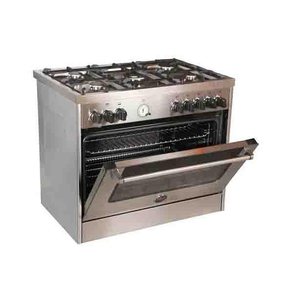 Bertazzoni 90x60 Cm Full Gas Cooker  (MAS905GGVLXC)