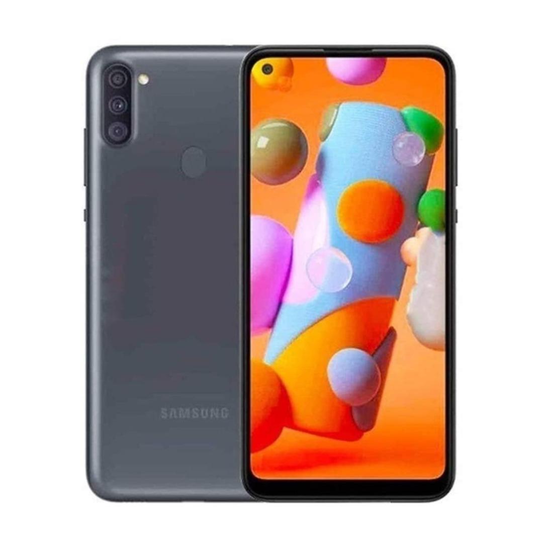 "Samsung Galaxy A11 6.4"" 32GB 2GB RAM Black SMA115FZKDXSGW-AA"