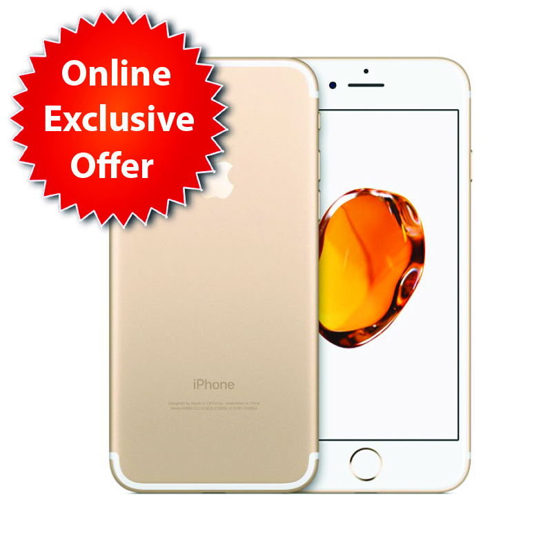 Apple iPhone 8 64GB with Facetime - Gold (MQ6J2)