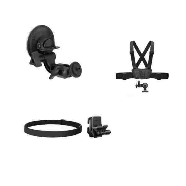 SONY ACCESSORRIES/ SUCTION CUP + HEAD MOUNT + CHEST MOUNT (ACC-KIT)