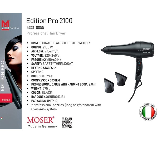 Moser Edition Pro Hair Dryer (4331-0055)