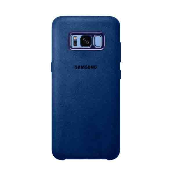 Samsung S8+ Alcantara Cover Blue (EF-XG955ALEGWW)