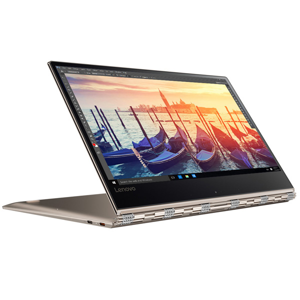 Lenovo Yoga 910 Intel Core i7-7500U, 8GB Ram, 512GB SSD, Shared Graphic Card, 13.9'' UHD LED Multi-Touch Screen, Windows 10 (YOGA910-A4AX)