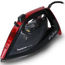 Panasonic Optimal Care Iron with New Steam Circulation System, 2600-2200W, Anti-Drip, Anti-Calc, Self-Cleaning , Vertical Steam, Spray, Water Capacity 350 ml, Advanced Ceramic Coating (NI-JWT960)