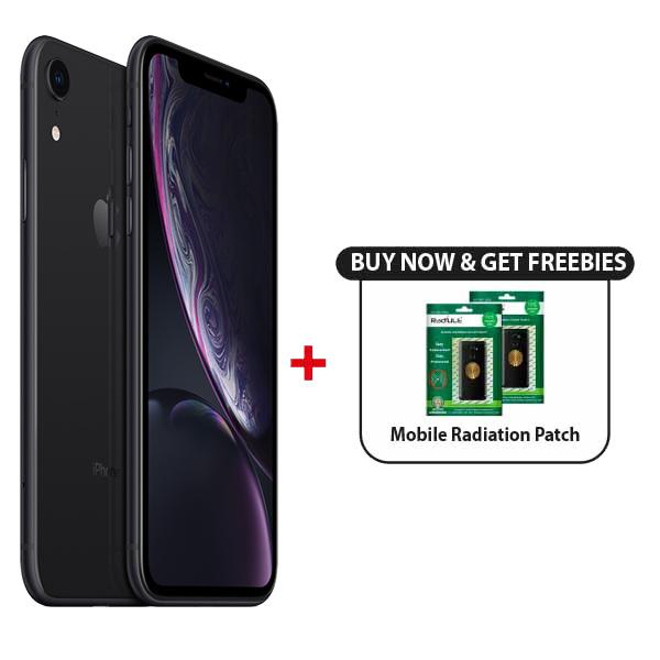 Apple iPhone XR 64GB Smartphone, Black (IPXR64GB-BK)