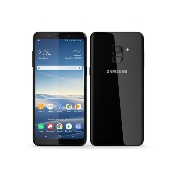 Samsung Galaxy A8 plus 2018, Black (SMA730FW-B)