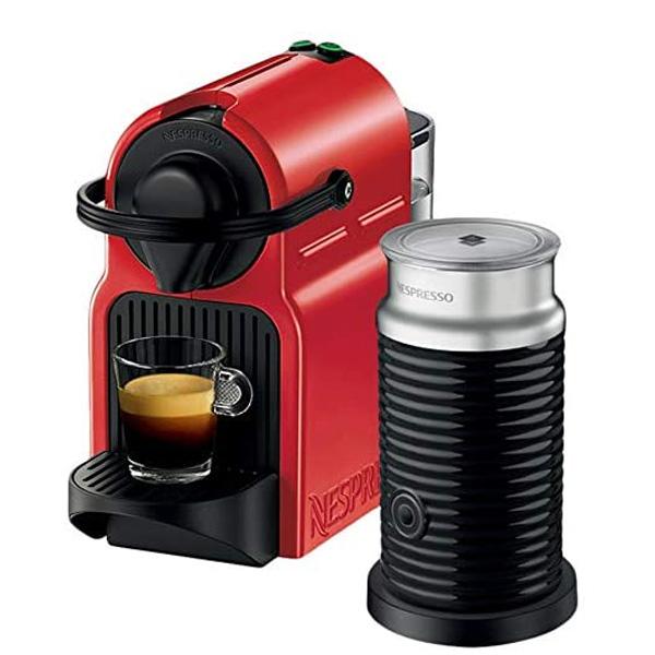 Nespresso Inissia C40 Red Bundle Coffee Machine (C40BU-RE)
