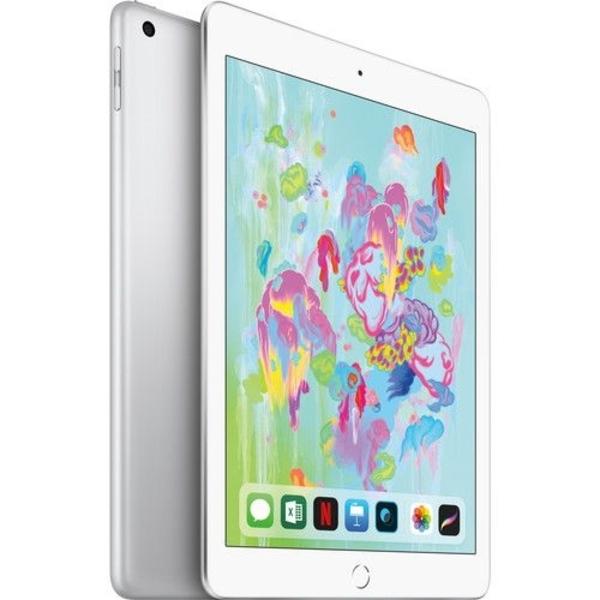 Apple iPad 6th Gen (2018) WiFi 128GB - Silver (MR7K2AE/A)