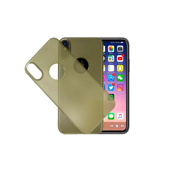 EIMO CASE FOR IPHONE X ULTRA THIN TRANSP (EIMOIPXTR)