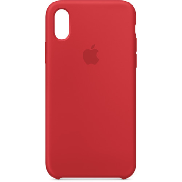 Apple iPhone X Silicone Case, Red (MQT52ZM/A)