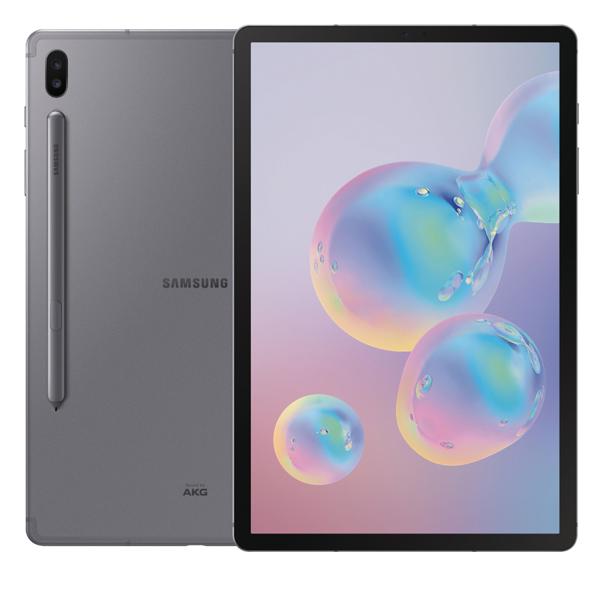 """Samsung Galaxy Tab S6, 128GB, 10.5"""", LTE, Mountain Grey SMT865GY"""