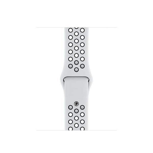 Apple 40mm Pure Platinum/Black NikeSportBand - S/M&M/L (MX8D2ZE/A)
