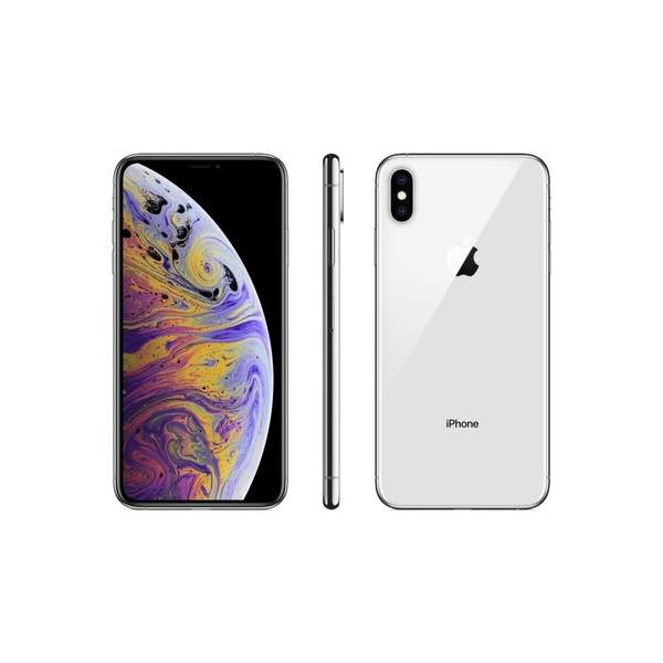 Apple iPhone Xs Max 512GB Smartphone, Silver (MT572-EC)