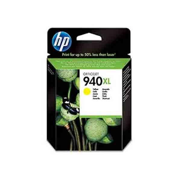 HP 940XL High Yield Yellow Original Ink Cartridge C4909AE