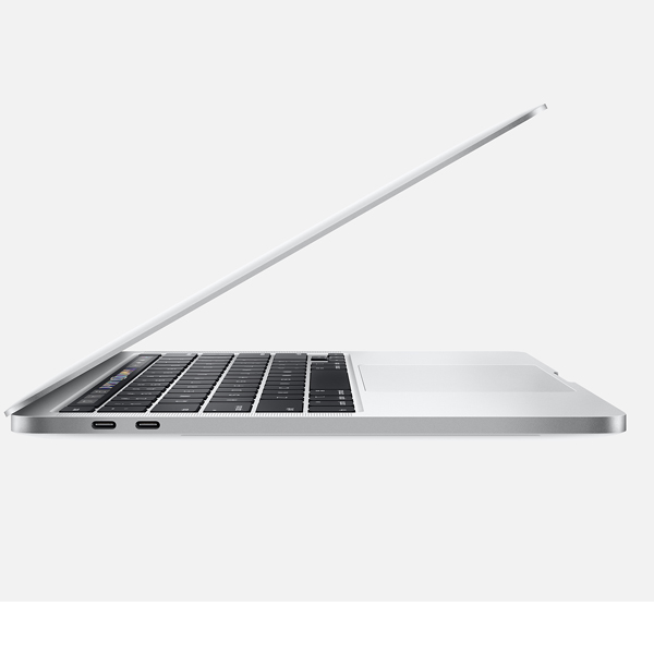 Apple 13-inch MacBook Pro with Touch Bar 2.0GHz quad-core 10th-generation Intel Core i5 processor, 1TB - Silver (MWP82AB/A)