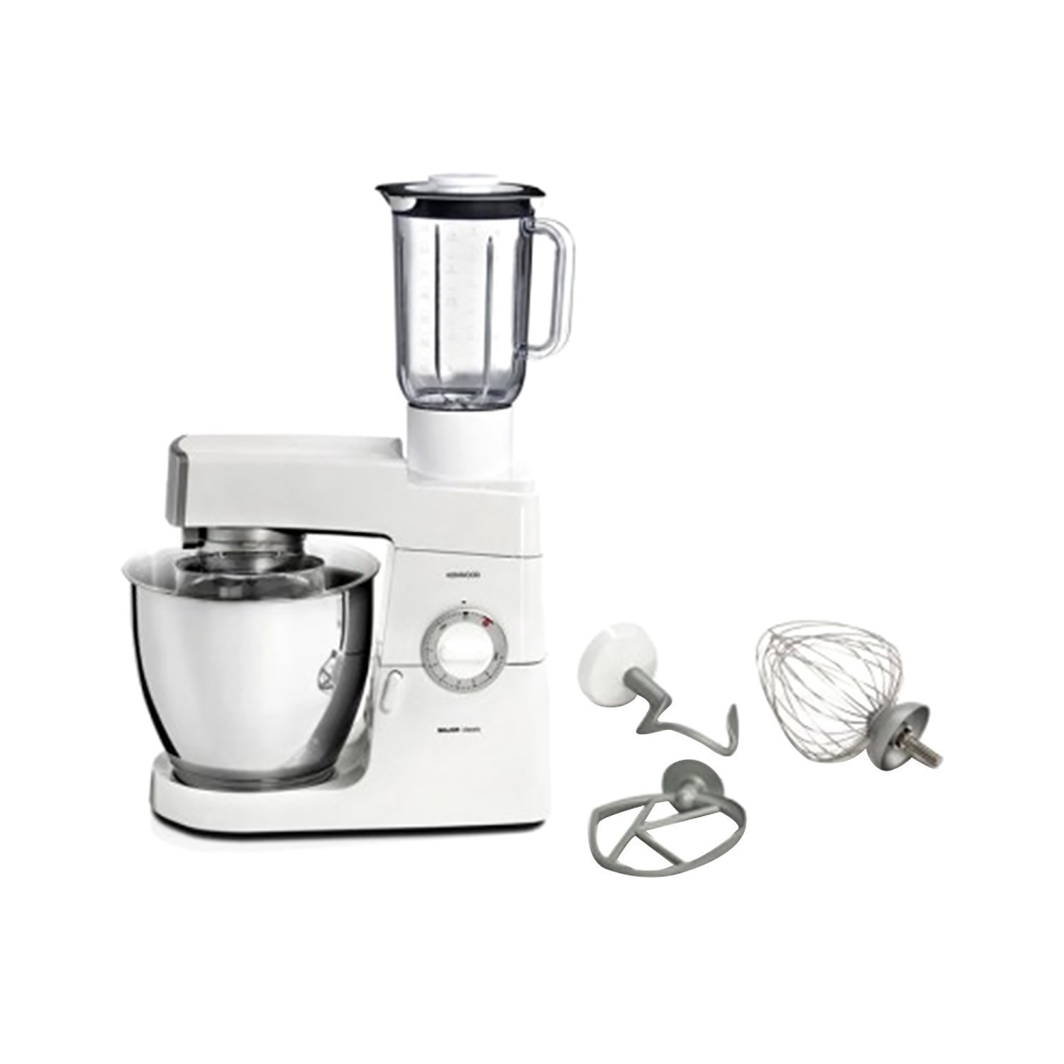 KENWOOD CLASSIC MAJOR KITCHEN MACHINE - WHITE AND SILVER - KM636/002
